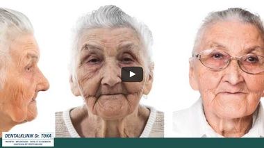 PEEK-Prothese implantatgetragener Zahnersatz Video von Dentalklinik Dr. Toka